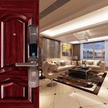 凯迪仕指纹锁家用电子锁防盗门锁新款云智能门锁K7磁卡锁密码锁图片
