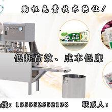 小型豆制品加工设备黑龙江内酯豆腐包装机盒装豆腐机厂家图片