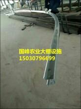 国峰大棚骨架几字型钢双膜骨架厂家直销批发价格