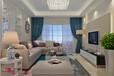 十堰装修金港旺座107m²三室两厅现代欧式设计风格案例赏析