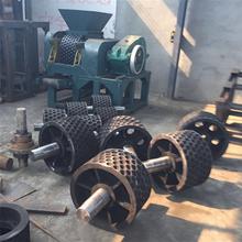 铁粉压球设备对辊成型机新型脱硫石膏压球机现货供应