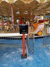 立柱游乐场收费机,立式游乐场刷卡机,启点游乐场收费系统,公园景区游乐园专用款图片