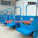 大棚运输车蔬菜水果大棚运输车朗瑞奇轨道式运输车