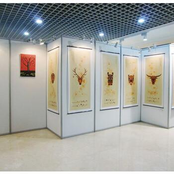 佛山无缝艺术板墙画展专用展板