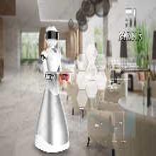 服务机器人展厅机器人展会机器人制冷服装