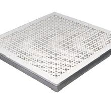 中天铝合金架空地板通风板图片
