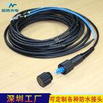 中兴华为设备端口专用PDLC防水光纤连接器光纤跳线厂家定制因特光电