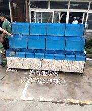 阳江定做鱼缸定做海鲜池百万家庭鱼缸定做厂家图片