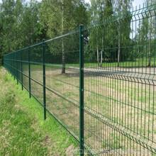 三角折弯护栏网桃型柱护栏网小区护栏网防护网围栏