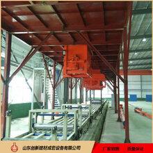 山东创新砂浆岩棉保温板生产线图片