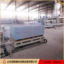 山东创新秸秆防火板生产线机械价格图片