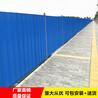 中山古镇厂房搭建现场围蔽护栏单层彩钢瓦围挡现货促销