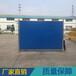 東莞市工業區擴建修路臨時護欄2米高平面彩鋼板施工圍蔽