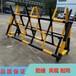 福建厦门校园大门防护栏圆管喷漆拒马路障带反光效果