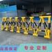 中國石油油庫攔截護欄黃黑鋼管烤漆拒馬耐曬防銹
