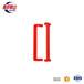 南护群山牌机床门拉手亮红色门把手可用于单开门双开门