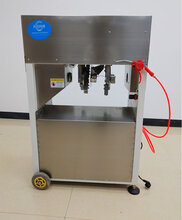 四川全自動甘蔗削皮機仿手工甘蔗去皮機自動切斷分段圖片