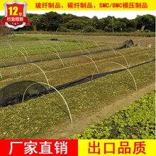 供应玻璃纤维棒保温室大棚骨架农业苗木支撑玻璃纤维杆定做图片