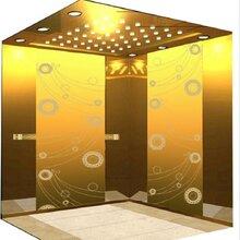 佛山市高比不锈钢板材厂家蚀刻板镀铜板电梯装饰板图片