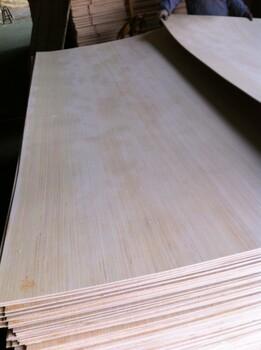 二次成型定做厚度整芯胶合板科技木杨木多层板贴面板