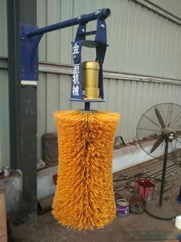 全自動牛體刷,旋轉式牛體刷、牛體刷價格河北金源