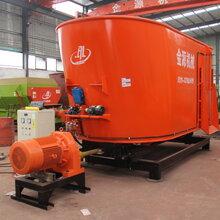 新疆加工、定做各种型号tmr饲料制备机饲料搅拌机厂家金源图片