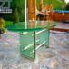 志涛订做玻璃厨柜台面夹胶玻璃台面热熔玻璃台面钢化玻璃台面
