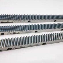 第七轴/大负载地轨机器人行走齿条-模四斜齿研磨齿条图片