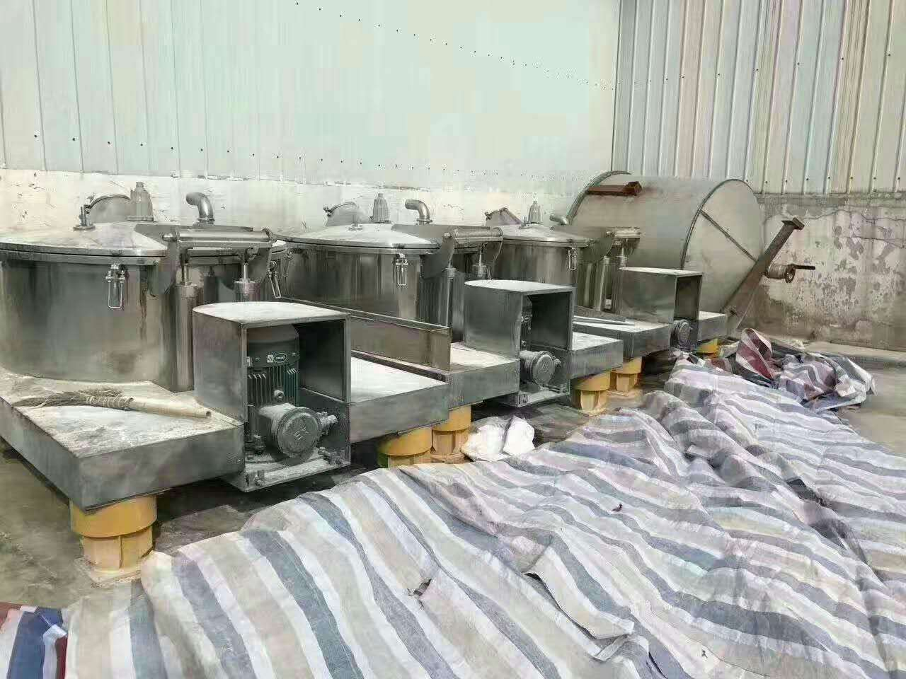 出售多台九成新1250平板吊带离心机,保证质量