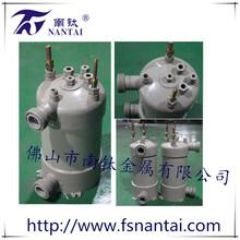 广东高效壳管换热器海鲜机换热器泳池机钛管换热器换热器PPR图片