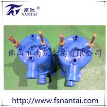 工业品热泵配件冷水机换热器高效换热器高效罐换热器冷凝器钛管换热器图片