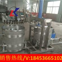 KL-300果蔬榨汁机多功能酱菜压榨机大豆榨油机图片