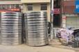 熱泵機組配套不銹鋼保溫水箱立式圓形保溫水箱方形組合水箱太陽能熱水工程配套