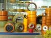 供應PU膠輥叉車輪PU包膠襯膠實芯輪胎