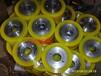 供应电动叉车轮重型聚氨酯轮挂胶轴承包胶减震轮