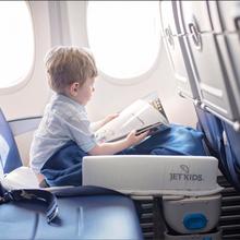 挪威jetkids多功能儿童行李箱进口升舱神器骑行玩具婴儿床出行必备