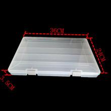 厂家直销大号5格透明塑料盒电子元件五金配件工具耗材包装收纳盒图片