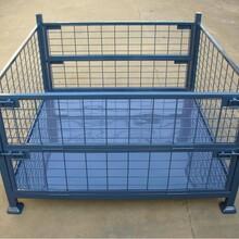 仓储笼金属托盘仓储笼A-5结构坚固承载量大堆垛方便