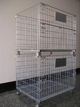 可折叠仓储笼可堆垛四层仓储笼承载量大仓储笼