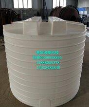 4000升耐酸碱加药箱4吨防腐蚀盐酸储罐立式搅拌桶可配电机