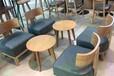 西安漫咖啡桌椅沙发定做咖啡厅家具生产供应