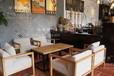 西安漫咖啡桌椅沙发定做咖啡厅家具生产