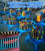创新型高效能加长线管中速绳带编织机