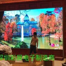 室内P4全彩显示屏
