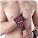 廠家直銷運動護腕帶舉重杠鈴健身松緊護手腕滌綸松緊綁帶
