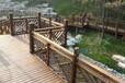 西安木栈道施工图、防腐木栈道价格设计、景观木栈道图片规格