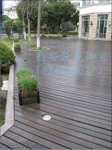 西安防腐木地板尺寸价格_户外木地板规格报价_露天木地板效果图_园林景观地板施工图片