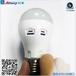 監控球泡燈LED雷達感應攝像不錄無用數據微波感應錄像