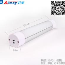超實惠實用精美禮品多功能LED野營燈警示燈四檔調光圖片