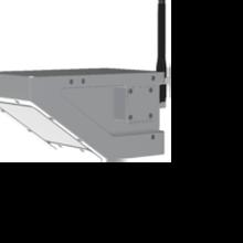 测量水体的流速和水位一体化雷达流量计图片